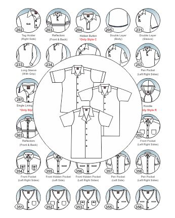 option parts_lab coat